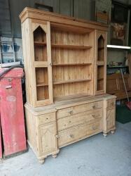 Large Old Pine Dresser