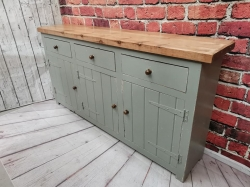 Painted old pine sideboard SOLD