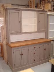 Handmade Reclaimed Pine Painted Dresser