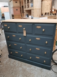 9 Drawer Chest SOLD