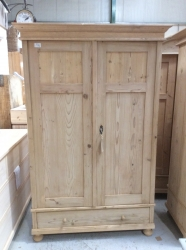 Antique Dutch Wardrobe - W3