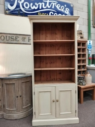Old Wood Bookcase SOLD