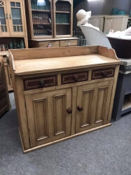 Victorian Pine High Waisted Sideboard