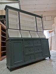 Painted pine dutch style shop dresser