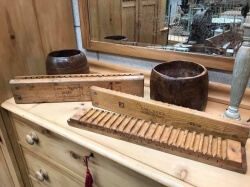 Rice Measures and Cigar Moulds