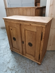 Old Dutch Pine Food / Larder Cupboard SOLD