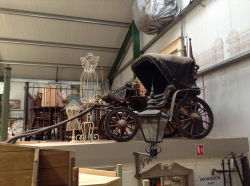 Horse drawn carriage reproduction