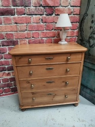 Antique Dutch pine chest of drawers SOLD