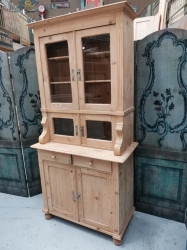 Small cute dresser with 4 glazed doors