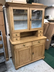 Antique Pine Dutch Dresser