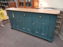Large rounded cornered sideboard SOLD