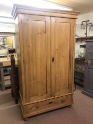 Antique Pine Dutch Wardrobe - SOLD