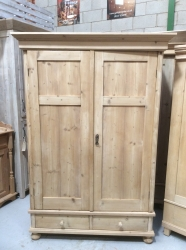 Antique Dutch Wardrobe - W7