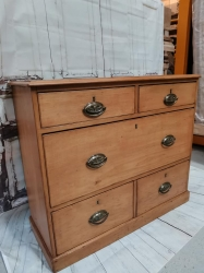 Fox handled very unusual drawer chest RARE SOLD