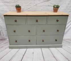 7 drawer painted chest SOLD