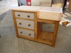 Butcher's Block with Drawers
