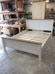Pine - Shaker Bed