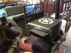 Willys jeep half size. Only one.