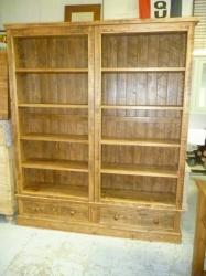 Rough Sawn Bookcase