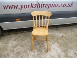 Low Back Slat Chair