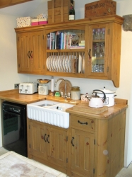 Handmade Kitchens - painted or waxed