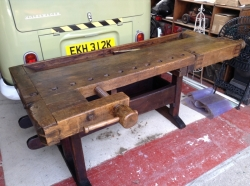 Superb joiners work bench / table