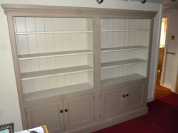 Painted Two Tone Bookcase