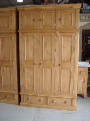 Hand Made Wardrobes with Top Boxes