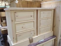 Pine bedsides handmade new