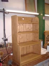 Heart bookcase