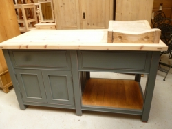 Island Unit with Butchers Block SOLD