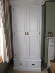 Hand Made Wardrobes - Painted