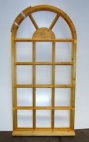 Timber arched fixed Gorgian window
