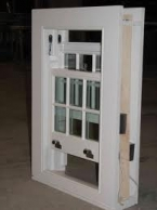 Georgian double glazed sliding sash window