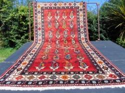 Qashqai . shishbolouki tribe. 158 x 297 cm.   5'  2