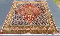 Bijar, Persian..<br/>  132 x 118cm.