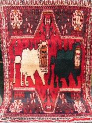 Lurs of Fars. 274 x 183 cm.  9' x 6'