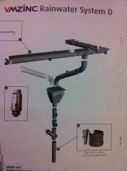 VMzinc Rainwater system