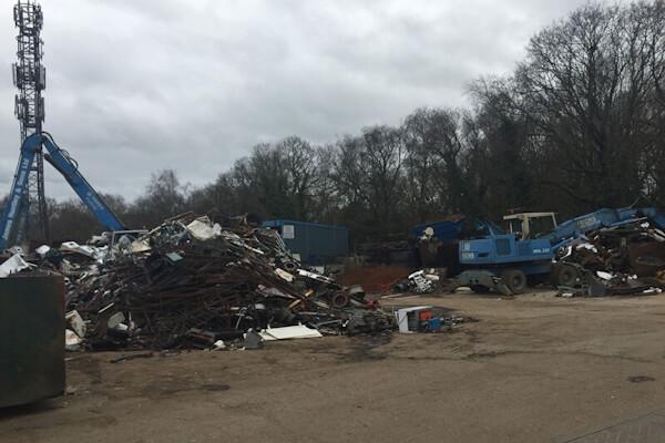 James Huntley and Sons Ltd - Scrap Yard