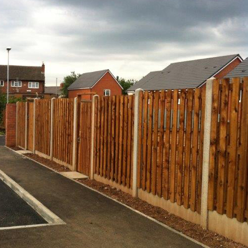 Fences<br>From all new fitted fences to repairing weather damaged panels. We have you covered.
