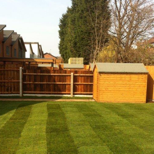 Sheds<br>Looking for a new shed in Sutton Coldfield, Lichfield, Tamworth or the surrounding areas? Here at LA Fencing we provide a reliable, prompt and professional service for shed building.