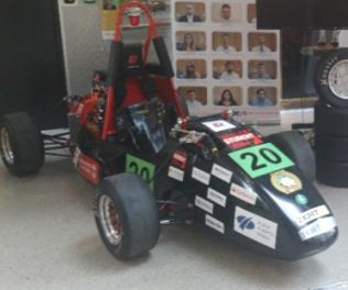 2019 Formula student Car