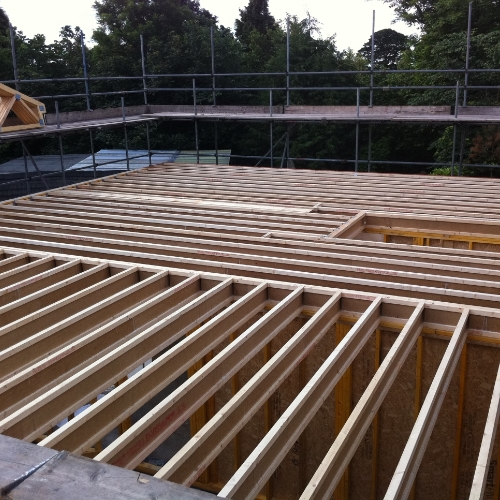 Here at Lawrence Taylor Construction, we look to provide a weathertight timber structure for you.