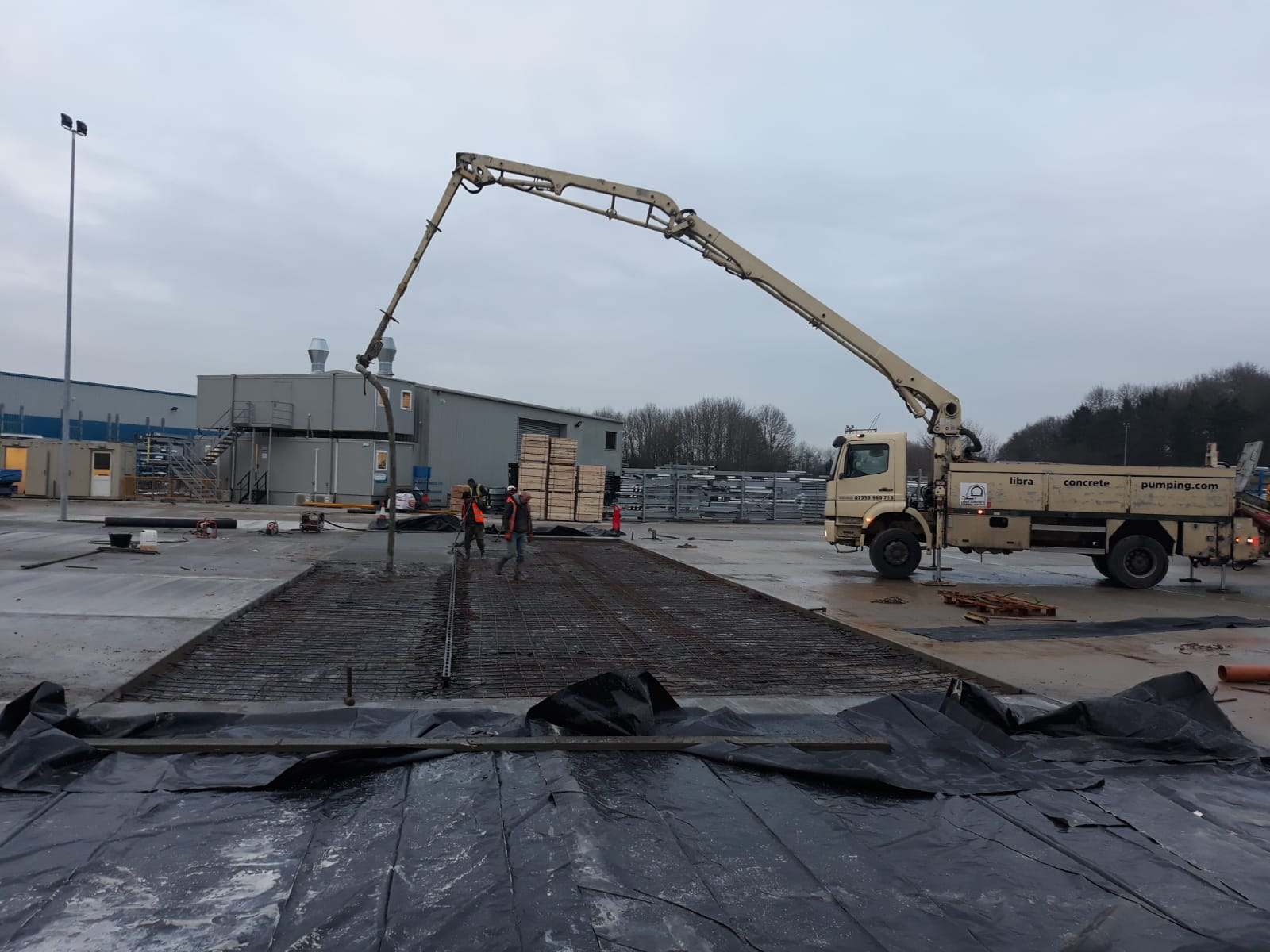 Concrete Pump Hire | Peterborough - Libra Concrete Pumping