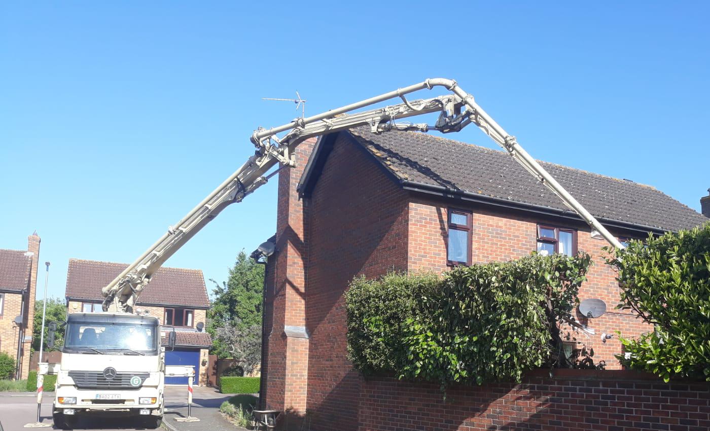 Hire Concrete Pumping Equipment In Peterborough