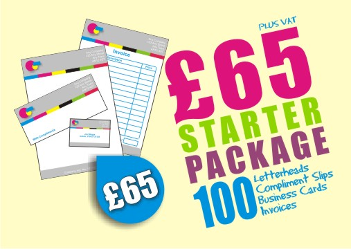 Business printing at linneys print solutions linney instant print business starter packs reheart Images