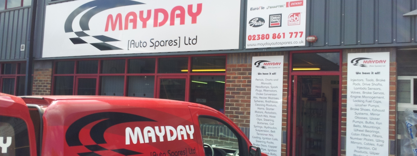 Welcome to Mayday (Autospares) LTD