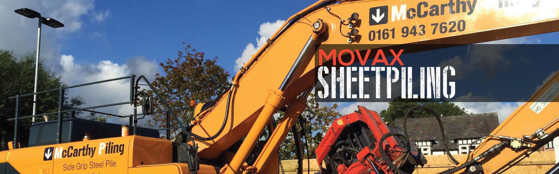 Movax Sheet Piling