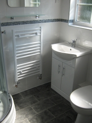 Bespoke Bathroom fitted by M. Cole Builders