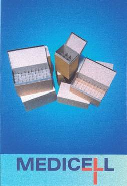 Medicell Storage Boxes.